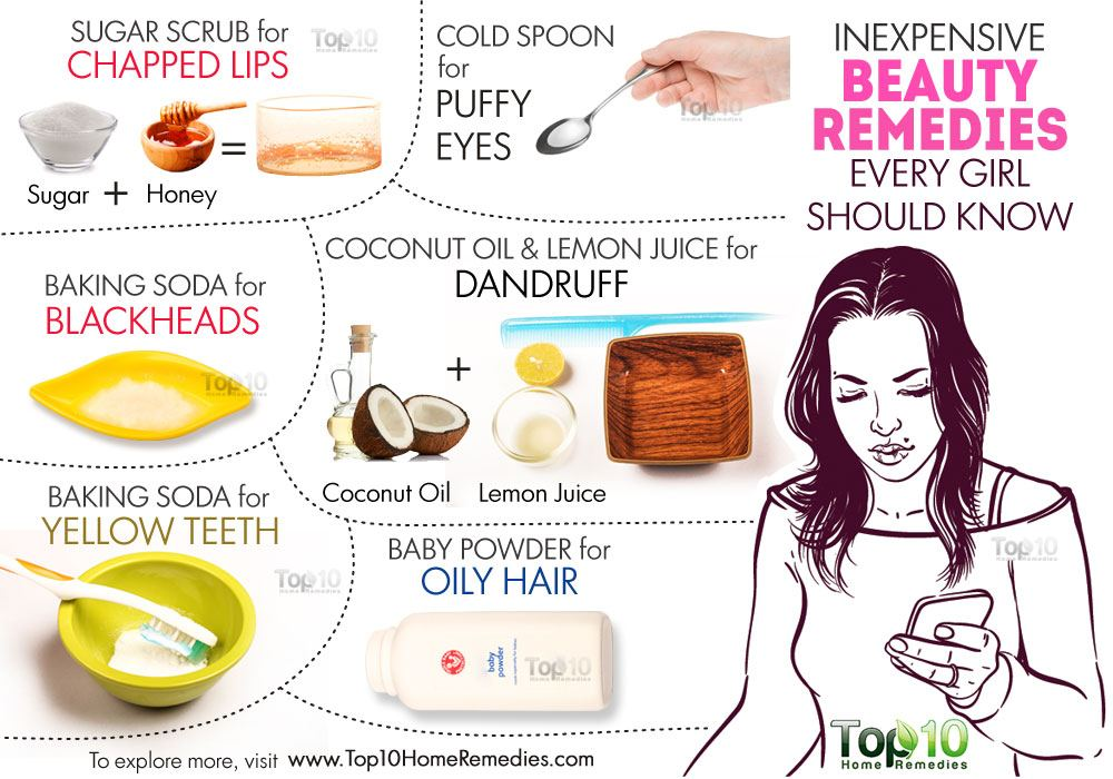 10 Inexpensive Beauty Remedies Every Girl Should Know ...