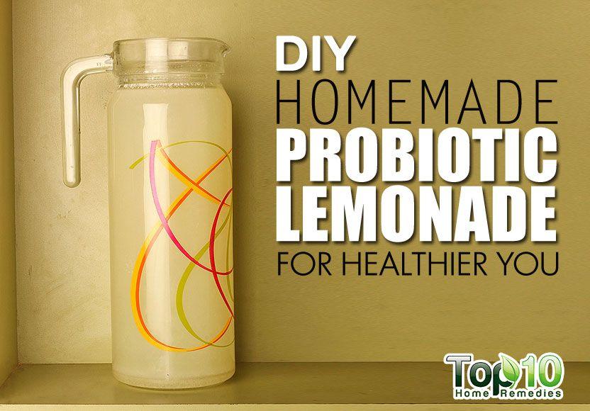 probiotic lemonade