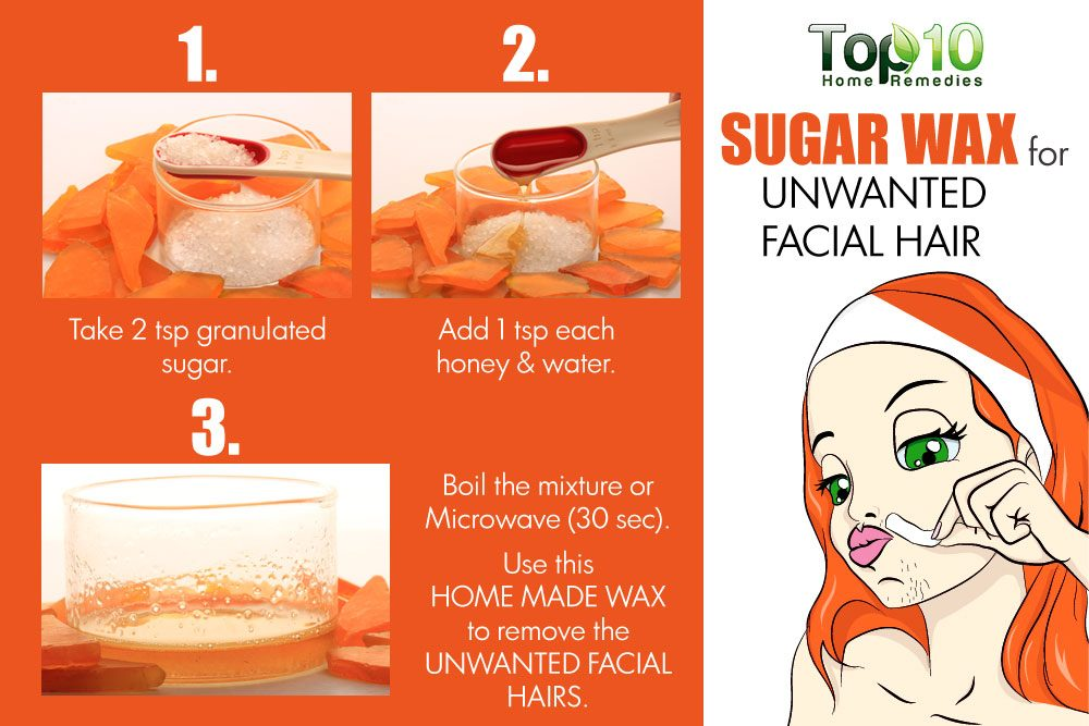 Naturally Remove Hair On Face