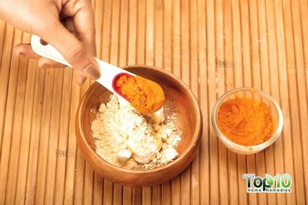 turmeric-gram gram flour mask s3 add turmeric