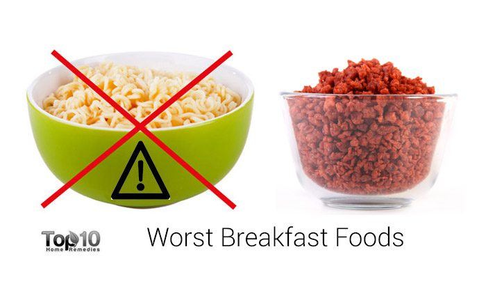 10 Worst Breakfast Foods To Start Your Day Top 10 Home