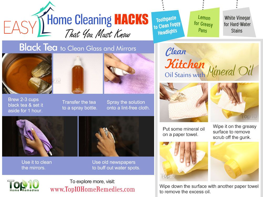 10 easy home cleaning hacks that you must know top 10 for Household hacks