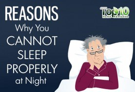 10 Reasons Why You Cannot Sleep Properly at Night