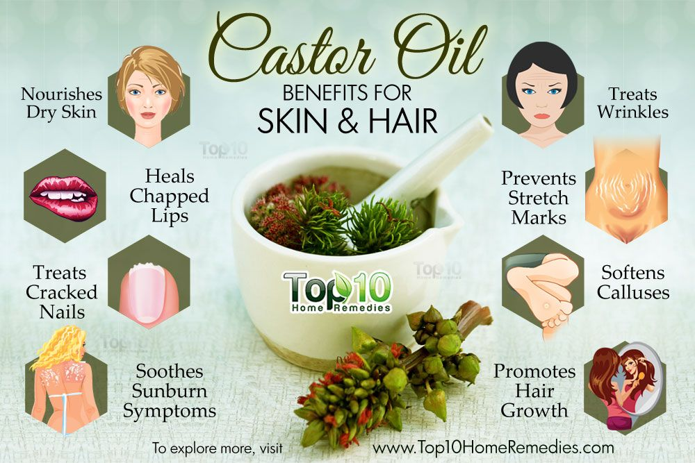 Top 10 Castor Oil Beauty Benefits For Skin And Hair Top