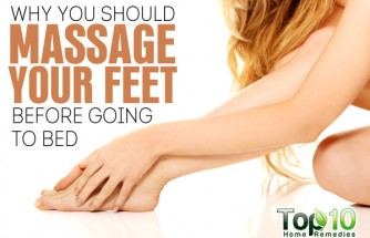 Why You Should Massage Your Feet before Going to Bed