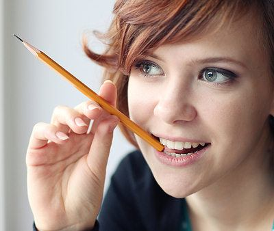 Put a Pencil in Your Mouth to Combat a Bad Mood
