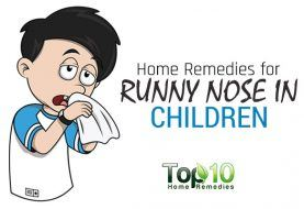 Home Remedies for Your Child's Runny Nose