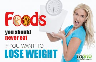 10 Foods You Should Never Eat if You Want to Lose Weight