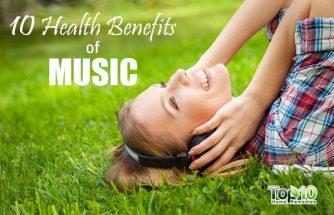 Top 10 Health Benefits of Music