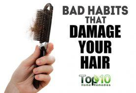 Top 10 Bad Habits that Damage Your Hair