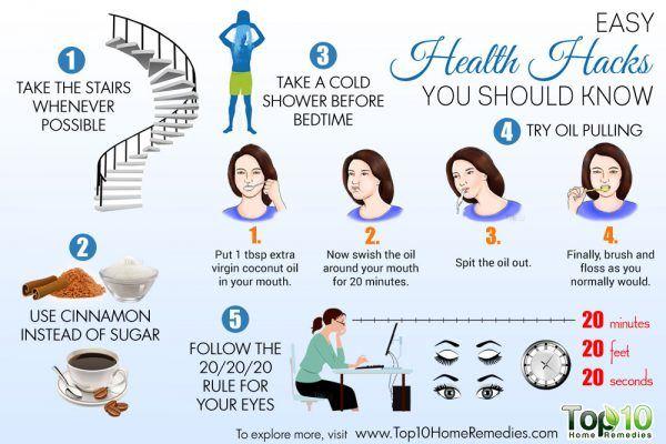 easy health hacks