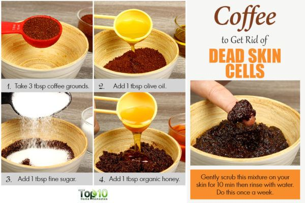 Baking Soda Olive Oil Coffee Grounds