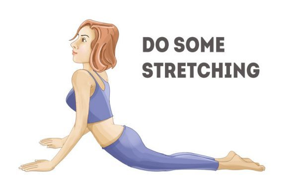 do some stretching