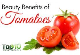 Top 10 Beauty Benefits of Tomatoes