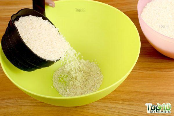 take 1 cup rice