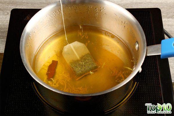 add 1 green tea bag