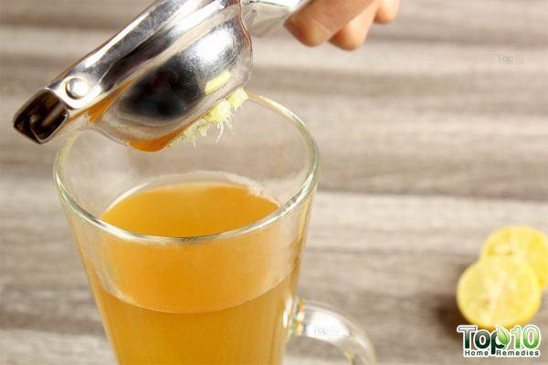 add lemon juice from 1 lemon