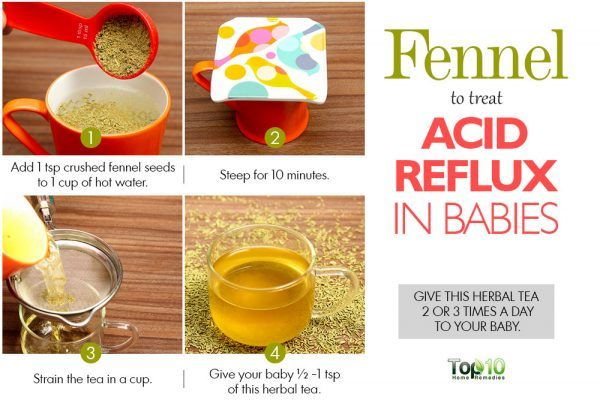 fennel tea for acid reflux in babies