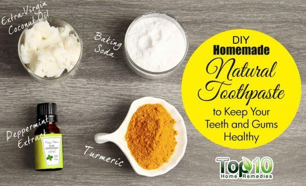 DIY toothpaste ingredients