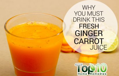 Why You Must Drink This Fresh Ginger Carrot Juice