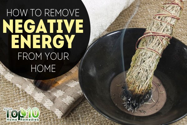 how to remove negative energy from your home
