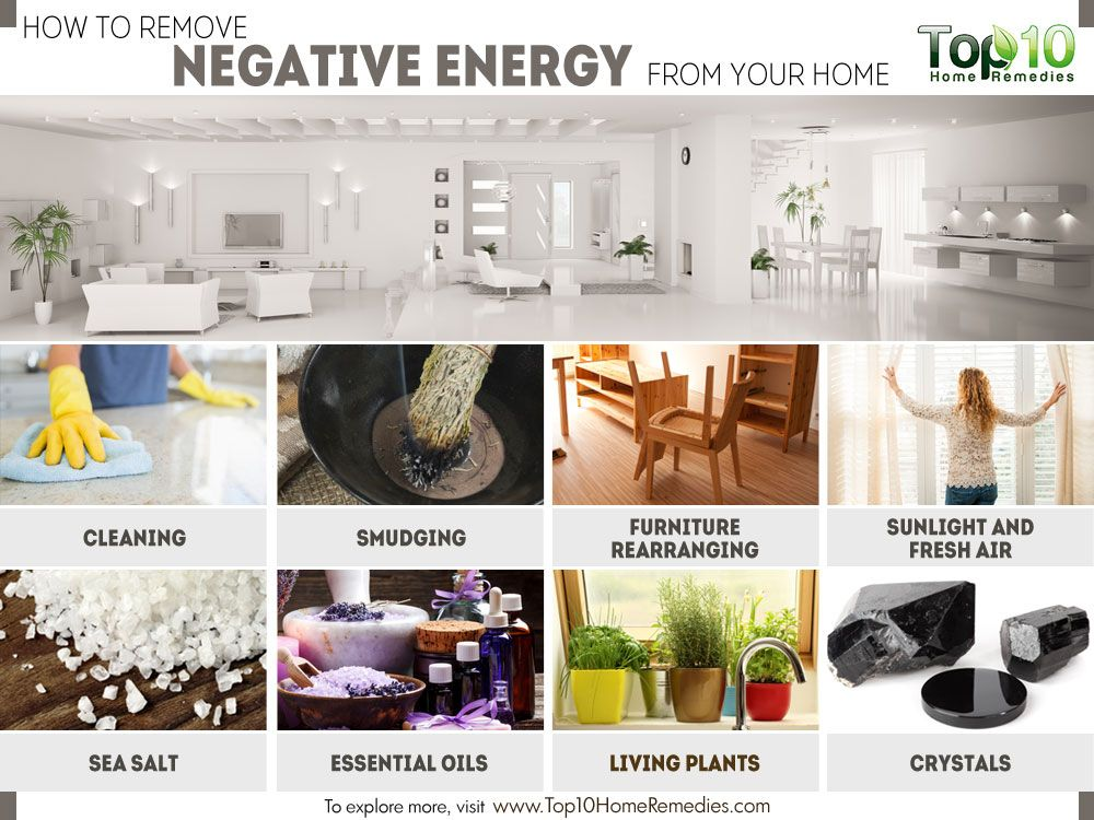 How To Remove Negative Energy From Your Home Top 10 Home