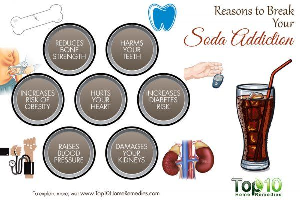 reasons to break soda addiction