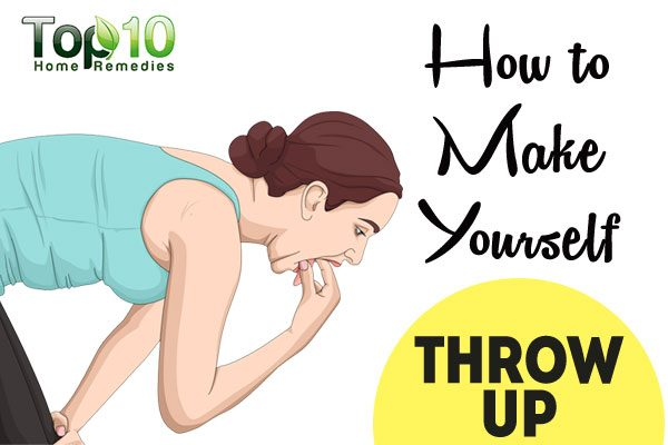 how to make yourself throw up | top 10 home remedies