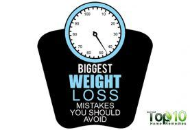10 Biggest Weight Loss Mistakes You Should Avoid