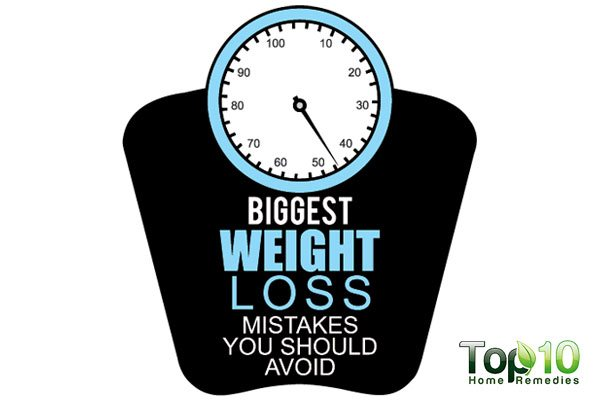10 Biggest Weight Loss Mistakes You Should Avoid | Top 10 ...