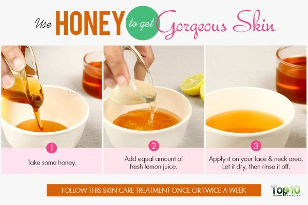 use honey for gorgeous skin