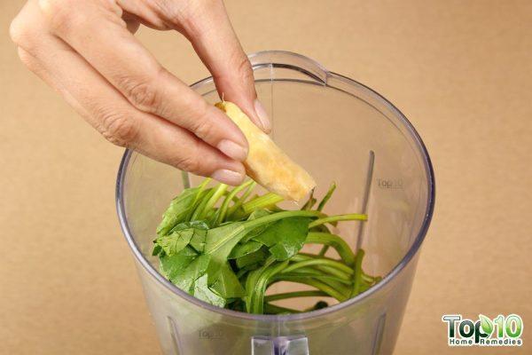 Detox smoothie-add ginger