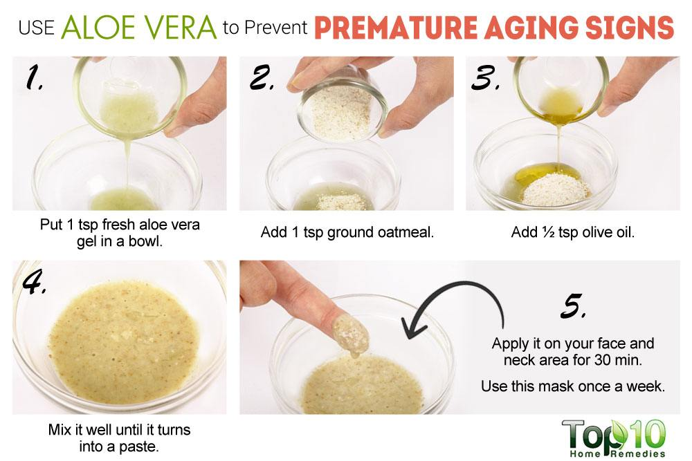 aging skin treatment homemade