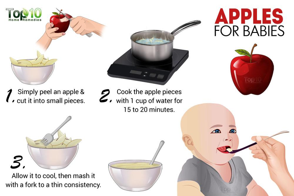 Baby First Food Apple