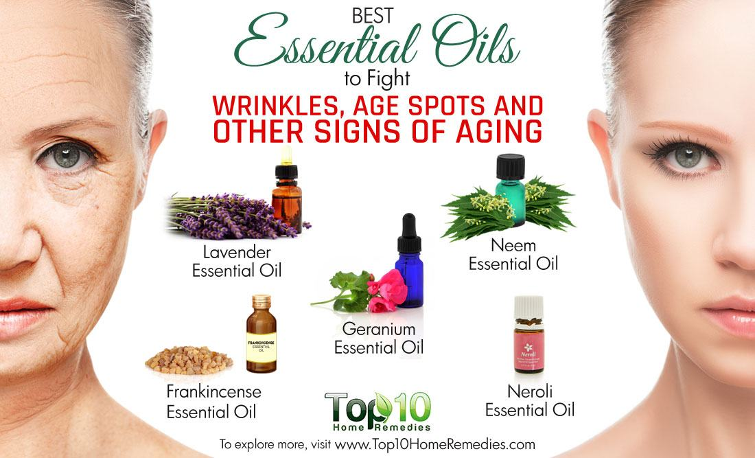 Essential oils for age spots on face young living