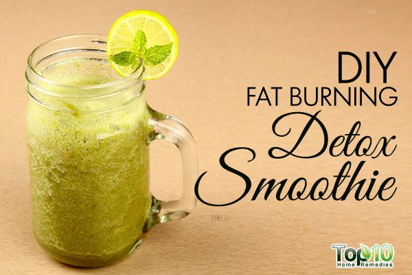 DIY detox smoothie
