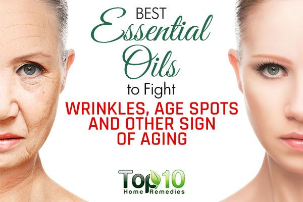 best essential oils to fight signs of aging