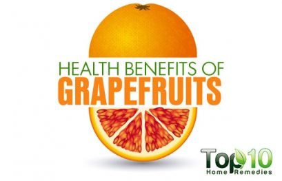 Top 10 Health Benefits of Grapefruits