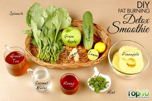 DIY fat burning detox smoothie