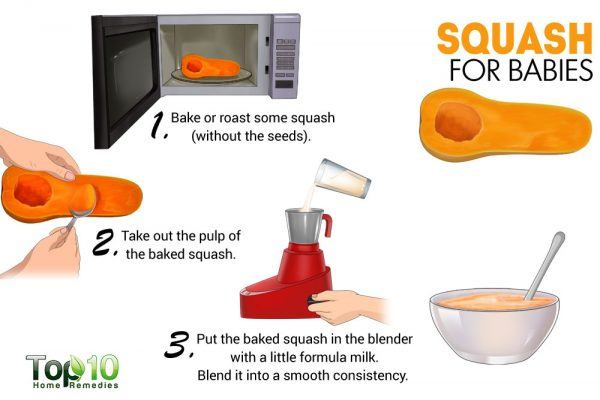 squash for babies
