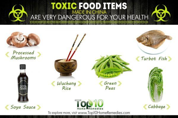 toxic food items made in china that are dangerous for your health