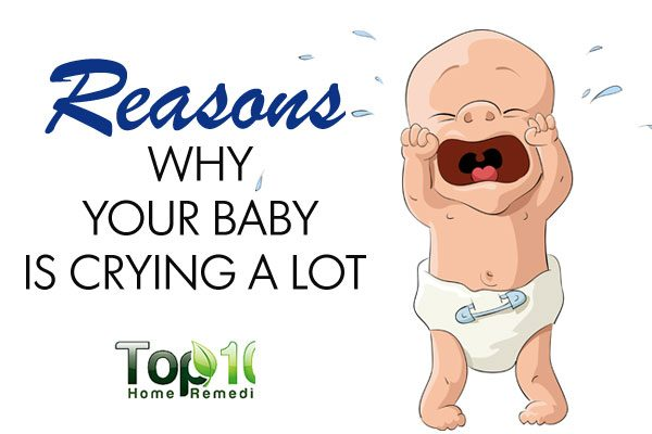 10 Reasons Why Your Baby is Crying a Lot