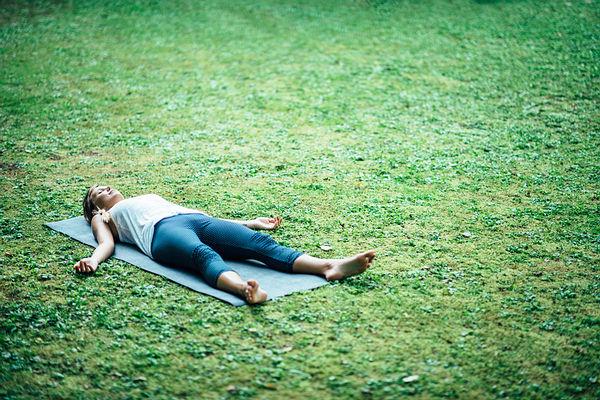 corpse pose (savasana)
