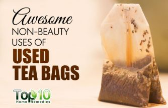 10 Awesome Non-Beauty Uses of Used Tea Bags