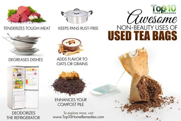 non-beauty uses of tea bags
