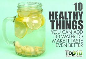 10 Healthy Things You Can Add to Water to Make It Taste Even Better