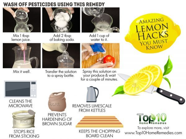 amazing lemon hacks