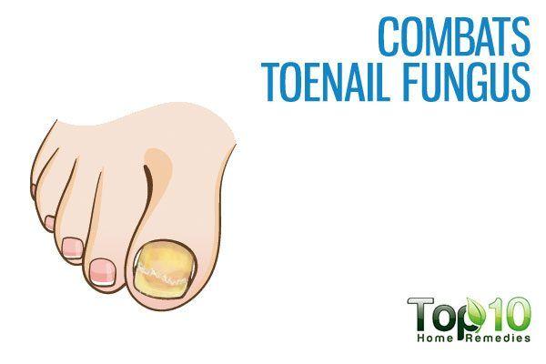 combats toenail fungus