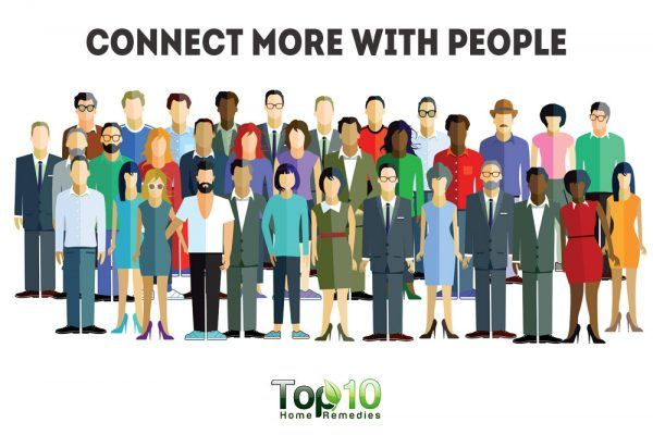 connect more with people