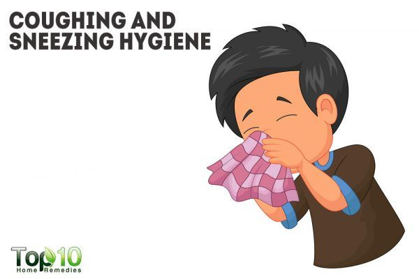 coughing and sneezing hygiene